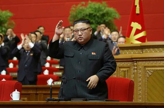 조선노동당 8차대회가 12일 폐막되었다. [사진-노동신문 갈무리]